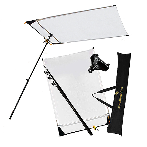 Sun Swatter Pro - Mobile Diffusion from Sunbounce Rental -2/3 Stop Silk Kit